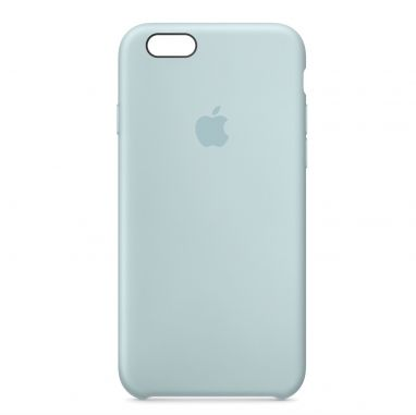 Apple iPhone 6s silicone case turquoise  SHOP ONLINE: http://www.purelifestyle.be/shop/view/technology/iphone-beschermhoezen/apple-iphone-6s-silicone-case-turquoise