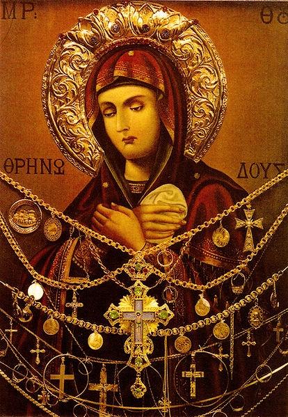 Theotokos by Deacon Ioasaf Athonities