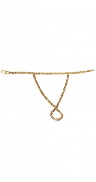 GOLDEN SHACKLES SMALL HAND PIECE #EinaAhluwalia