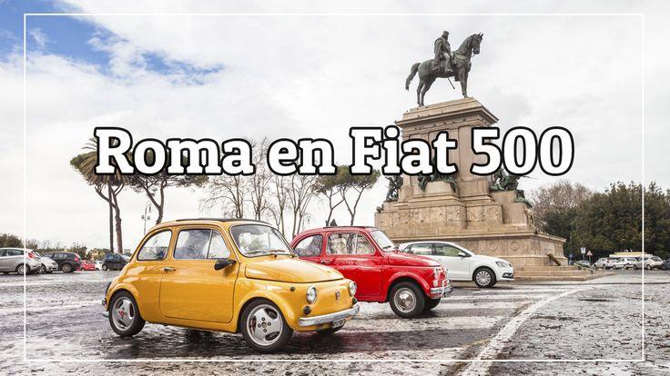 Roma en Fiat 500, experiencia muy divertida en Vídeo!