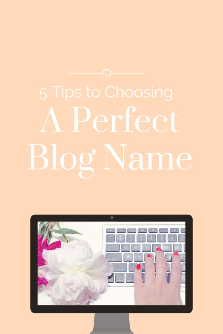 How To Come Up With A Creative Blog Name