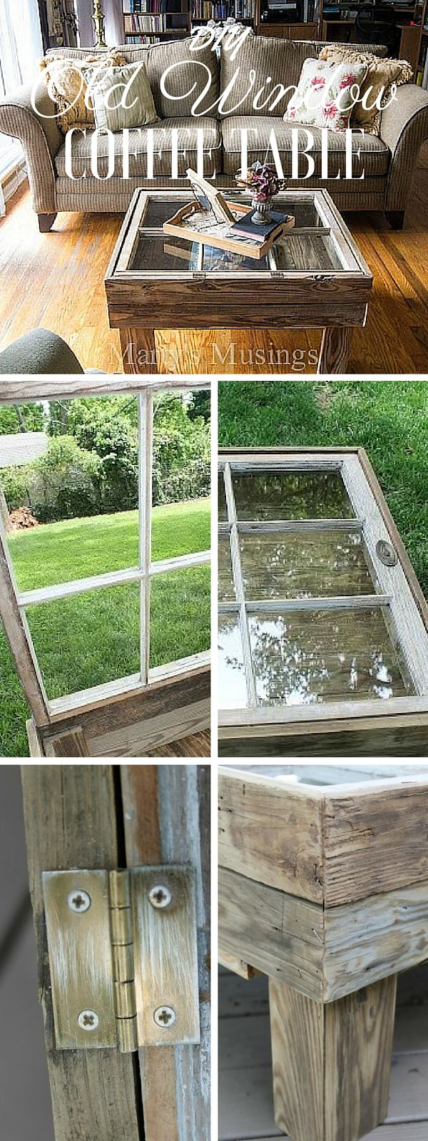 Check out the tutorial: #DIY Repurposed Window Coffee Table @istandarddesign