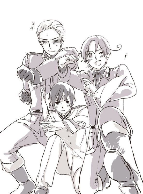 Axis Hetalia|  presenting, the axis powers.