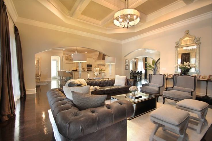 Love these sofas!  Southlake Custom Home - Larry Stewart Custom Homes | Luxury Home Builders in DFW | 817-251-5832