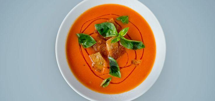 Tomatsuppe | Suppe med plommetomat | Lises blogg