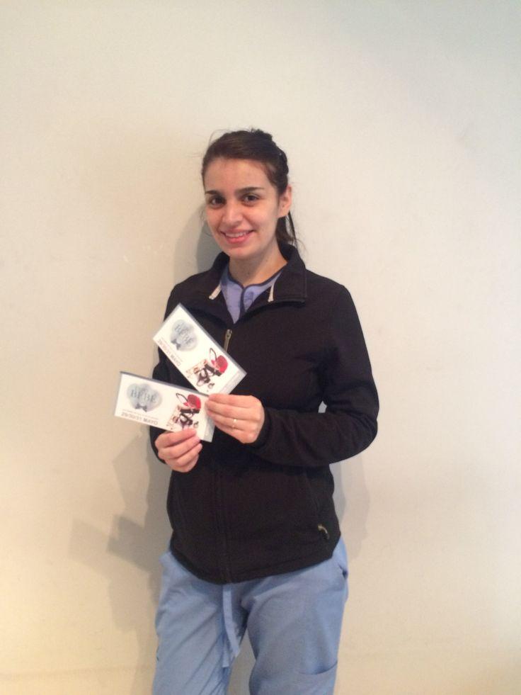 Ella es Javi Otarola de Santiago, ganadora del concurso Expo Bebé del mes de mayo. El premio fueron  2 entradas para la #ExpoBebé2015