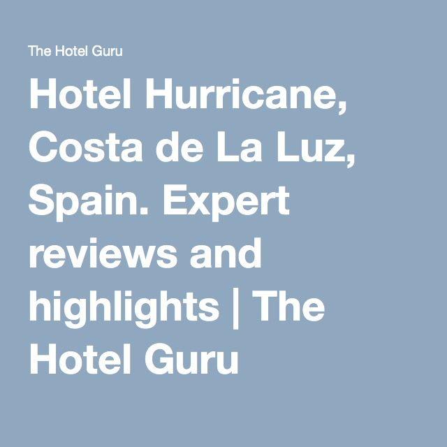 Hotel Hurricane, Costa de La Luz, Spain. Expert reviews and highlights | The Hotel Guru