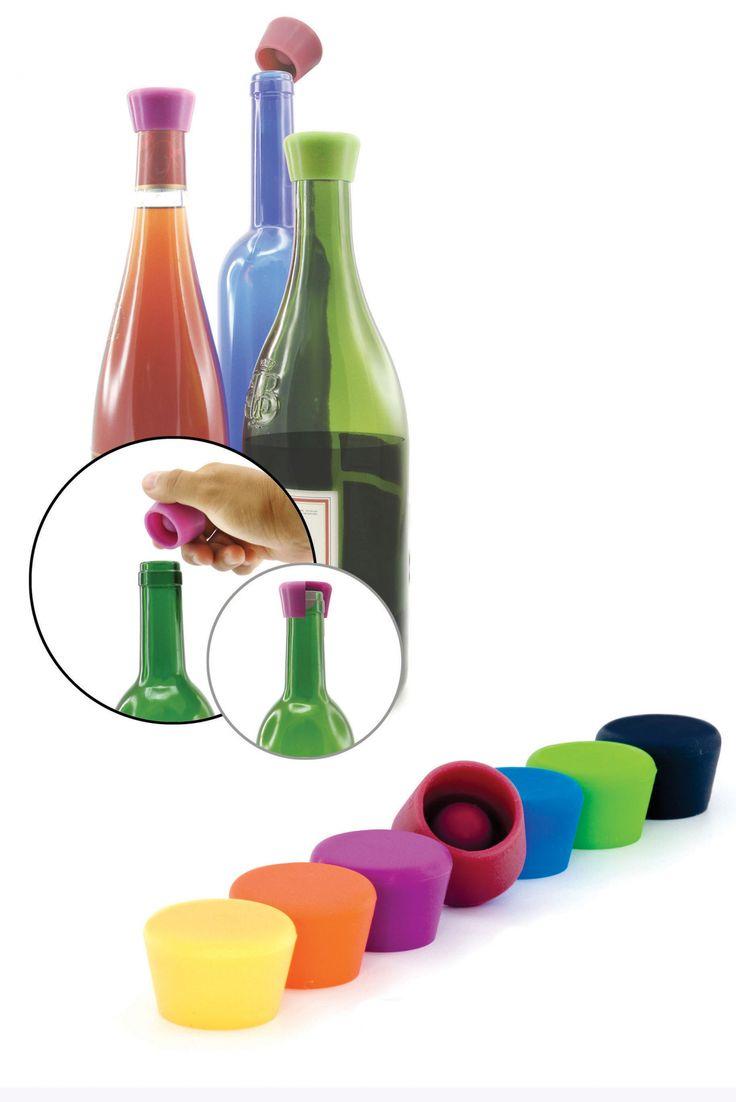 Korki silikonowe do wina  || #christmas #gift #idea
