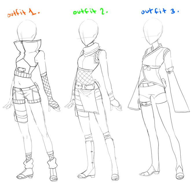 anime ninja clothes | Displaying (18) Gallery Images For Anime Ninja Outfit...