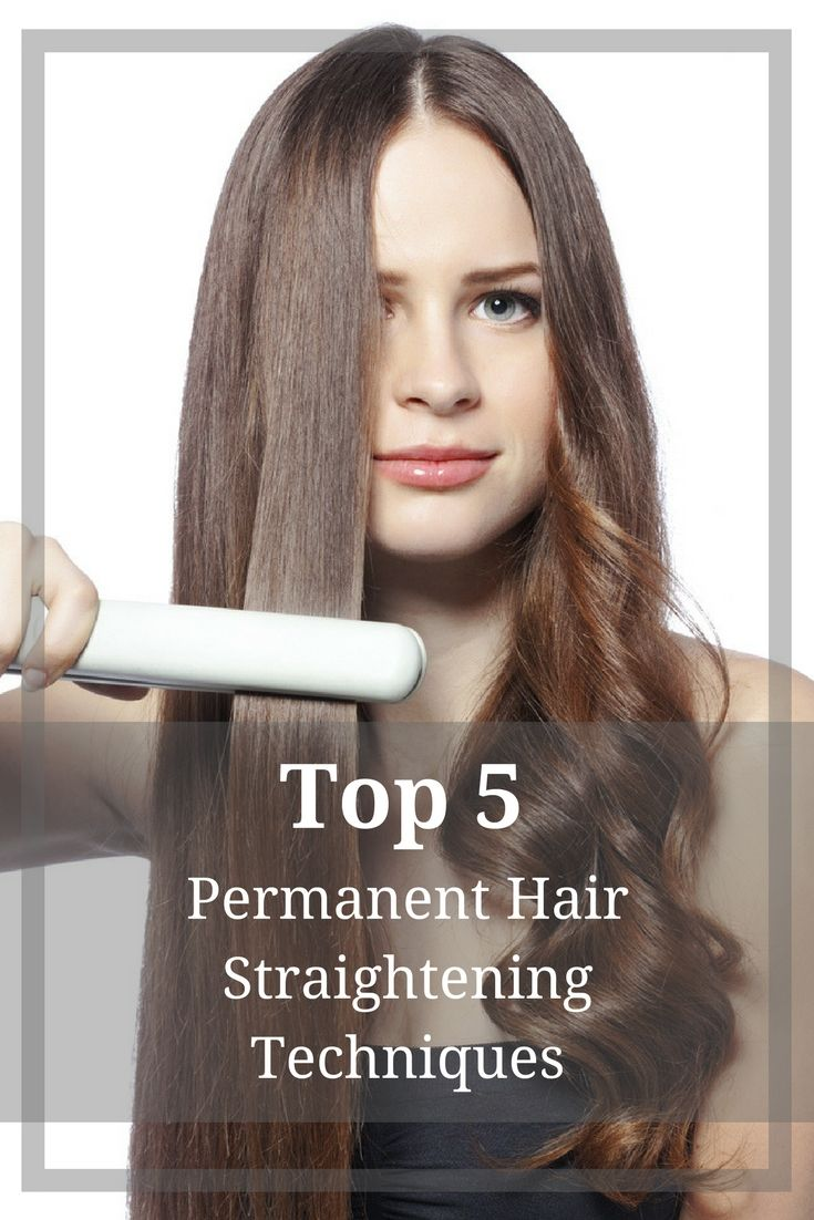 Straight perm and dying hair - There Are Various Permanent Hair Straightening Techniques That Can Change Unruly Hair Into Smooth Sleek And Shiny Locks