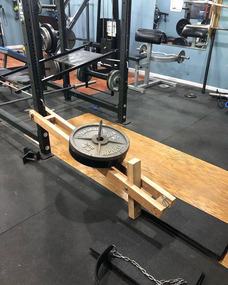 Garage gym experiment on instagram doityourself leg