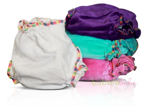 OSFM Bamboo Delights fitted nappies by Bubblebubs, bamboo velour sooo soft