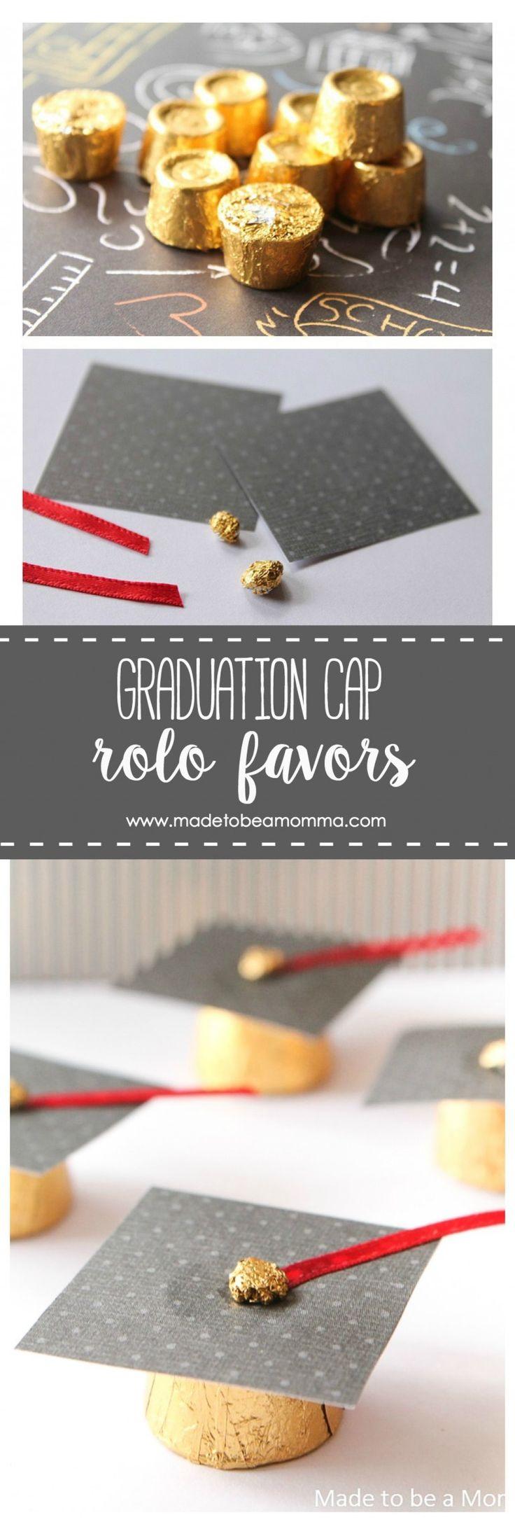 Graduation Cap Rolo Favors a simple favor