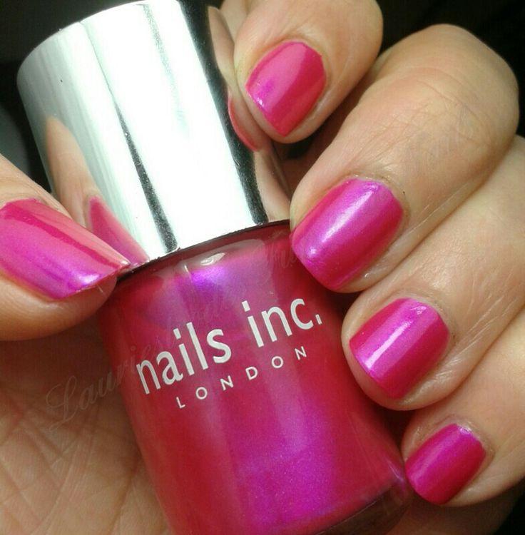 GOT #1: Pink. nails inc montrose place