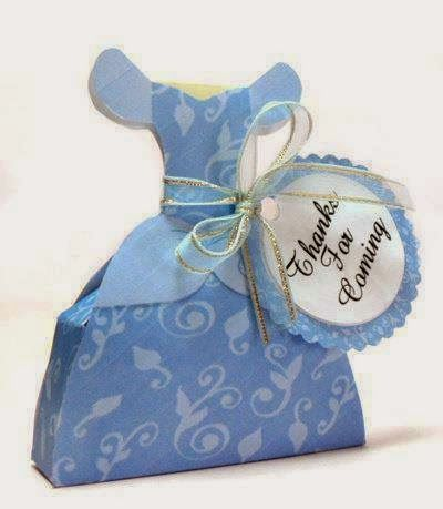 Cute Free Printable Cinderella Party Favor Box.