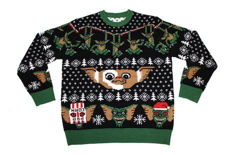 Gremlins Christmas sweater by Mondo