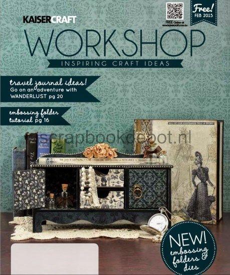 Kaisercraft Workshop Magazine February 2015 (max. 1 per klant)