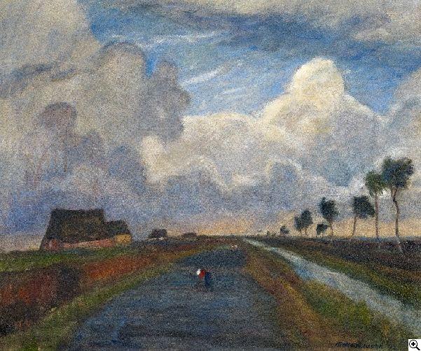 Otto Modersohn:  aus unserer Rubrik: Moderne Gemälde, Zeichnungen, Aquarelle