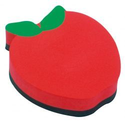 Magnetic Whiteboard Erasers, Apple