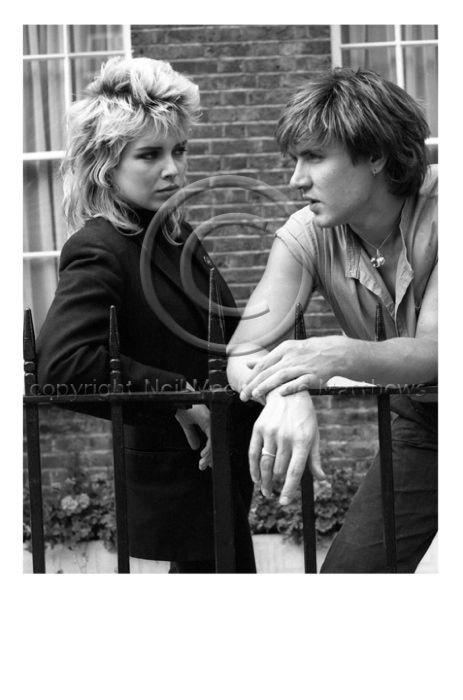Kim Wilde & Simon Le Bon 21/5/82