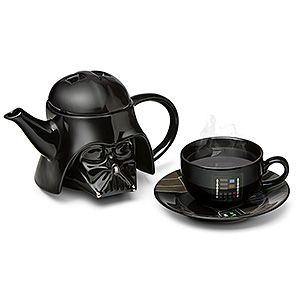 If only Vader could sit down and wrap his black gloves around a steaming mug of bergamot-scented tea, then he could get to the bottom of all his anger and be a more productive leader.