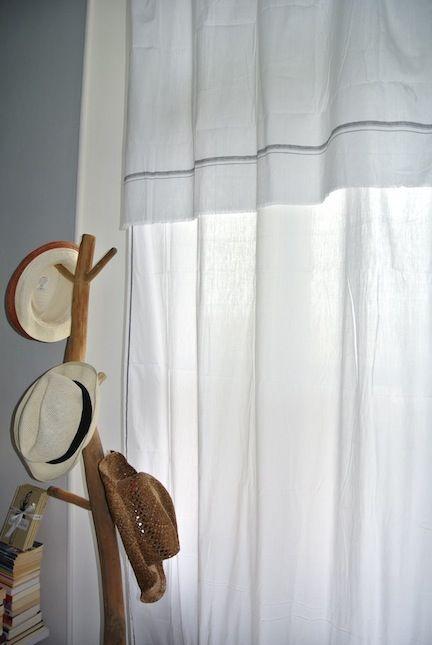"Handwoven cotton curtain ""dhoti"""