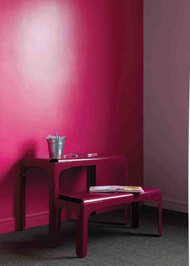 17 best images about chambres on pinterest mauve inspiration and totems - Chambre couleur framboise ...