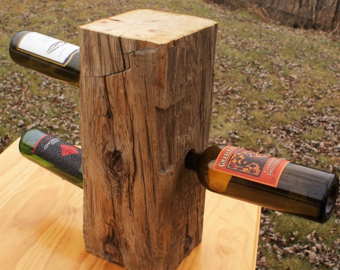 Reclaimed Barn Beam End-Grain Counter Top Table by 7MWoodworking