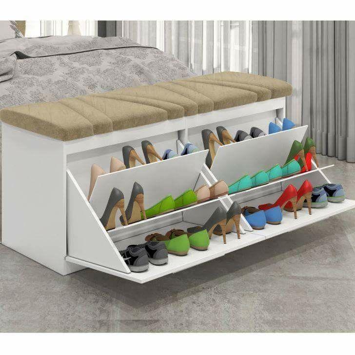 M s de 25 ideas incre bles sobre guarda zapatos en for Guarda zapatos en madera