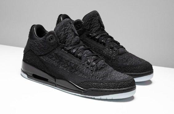 Air Jordan 3 Flyknit Black Arriving This Month
