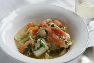Chilean fish stew - yes please!