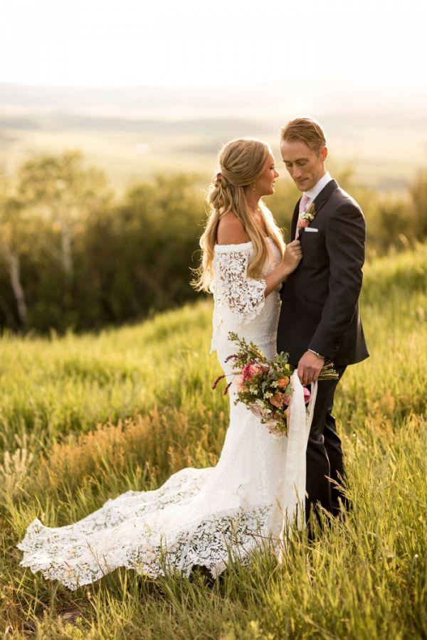 Boho bride  #wedding #weddings #weddinginspiration #engaged #aislesociety #summerwedding