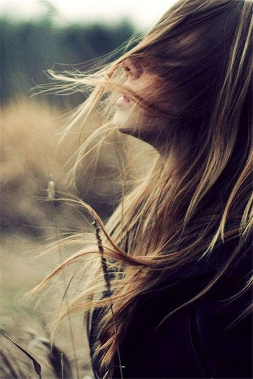 i like that her hair is in her face and you feel as if she is just feeling the wind nothing else.