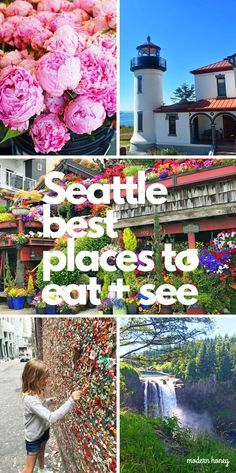 A Travel Guide to Seattle. The Best Places to Eat and See in Seattle Washington. The ultimate travel guide of things to do in Seattle and places to eat in Seattle. The most popular places to visit in Seattle. www.modernhoney.com