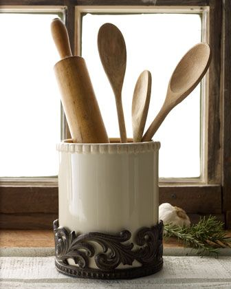 Utensil Holder by GG Collection at Horchow.