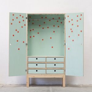 STAR WARDROBE kids room. Sterren kast kinderkamer