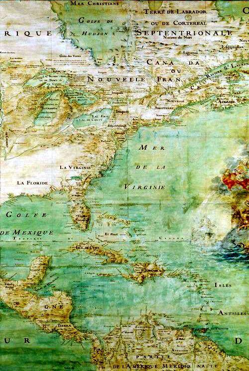 Mer de La Virginie Map