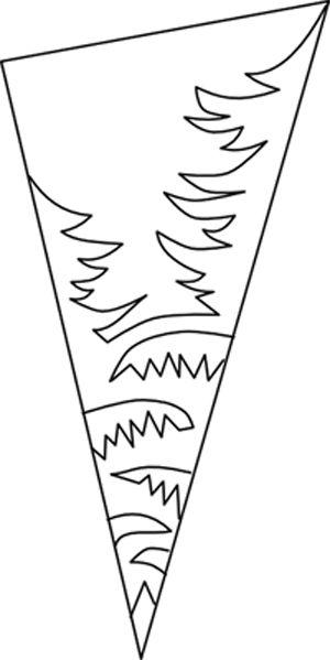 схема снежинки из бумаги