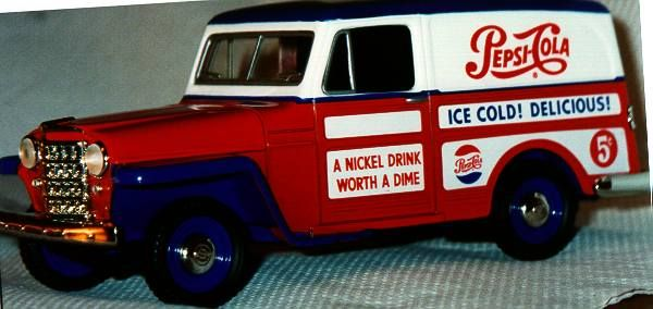 Old Pepsi Truck Toy The Blonde In The Pic Photo