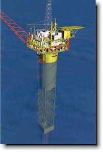 Perdido (8000&#39- WD) | Oil &amp- Gas Industry | Pinterest | Drilling rig ...