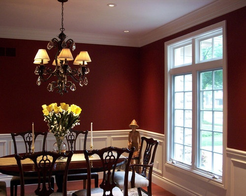 Dining Room Red Paint Ideas 14 best farm dining room images on pinterest | formal dining rooms