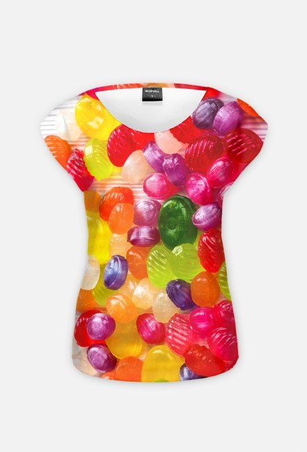 Colorful candy t-shirt! You can buy it on cupsell, with the print on both sides: https://blibli.cupsell.com/product/2658602-product-2658602.html or on one side: https://blibli.cupsell.com/product/2658599-product-2658599.html #candy #hardcandy #food #tshirts #tees