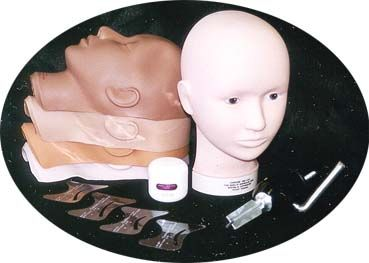 Complete Make-up Mannequin Tool Kit -- Makeup Artist Network Online Store