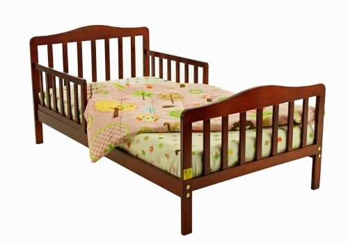 Dream On Me Classic Toddler Bed, Cherry $54.71