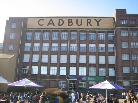 Cadbury's World! Take some time to visit the chocolate factory during your stay in London.   Linden Road | Bournville, Birmingham B30 2LD, England 0844 880 7667    http://www.tripadvisor.co.uk/Attraction_Review-g186402-d214033-Reviews-Cadbury_World-Birmingham_West_Midlands_England.html#