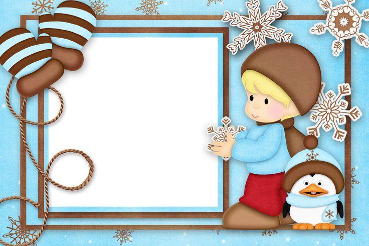 Marcos de Navidad infantiles : Plantillas, recursos y más