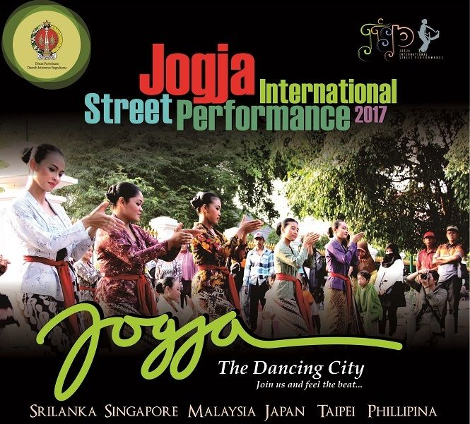 Jogja International Street Performance 2017, Jogja The Dancing City!