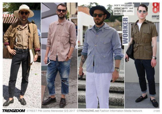 #Trendzine SS 2017 trends on #WeConnectFashion. Piiti Uomo tradeshow: Men's…
