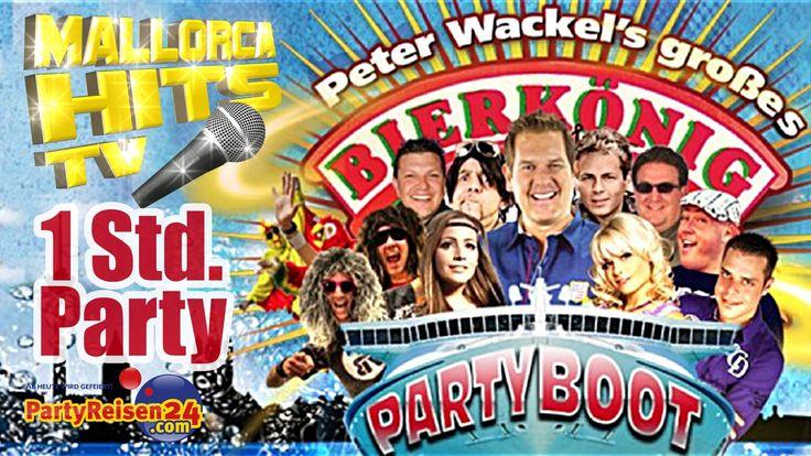 """Eine fette Stunde Ballermann Party Hits 2013 von Peter Wackel´s Bierkönig Partyboot 2013 in Köln! Alle Stars des Partyboots in einem riesen langen Musikvideo - mit den Auftritten von Peter Wackel und """"Scheiss drauf! Malle ist nur einmal im Jahr"""", Tobee, Ikee Hüftgold, Marry, Benniii, Remmi Demmi Boys, Mia Julia. http://MallorcaHitsTV.de"""