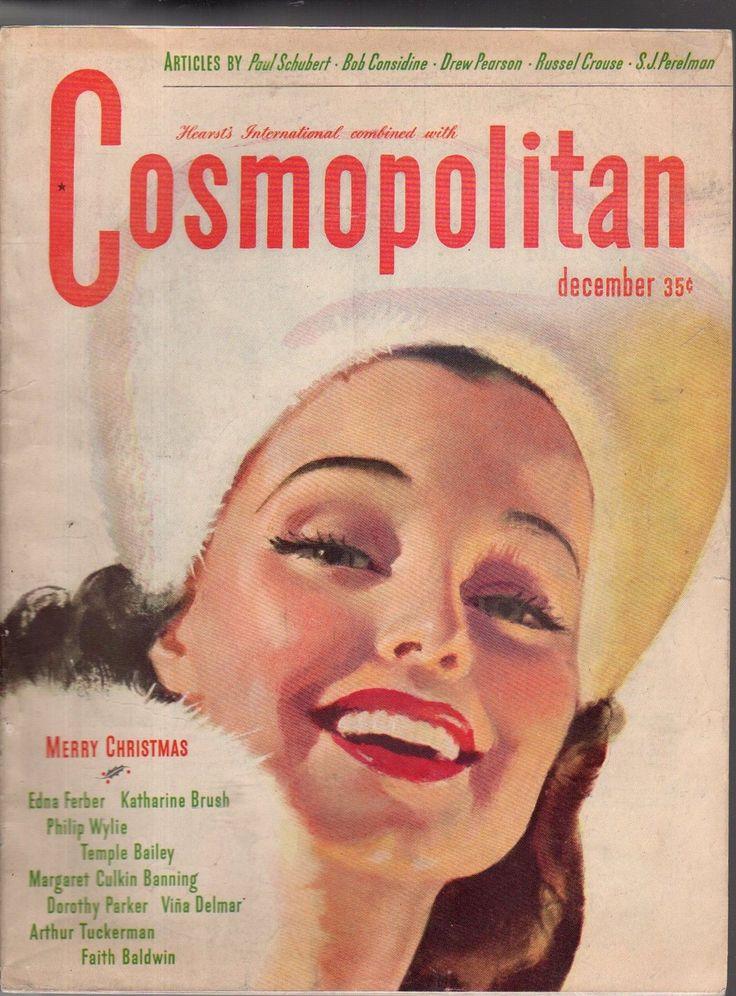 Cosmopolitan magazine, DECEMBER 1944 Artist: Bradshaw Crandell